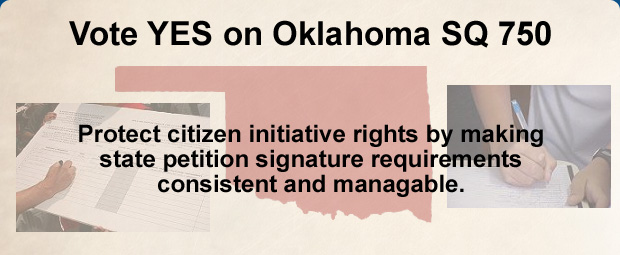 Yes on OK S.Q. 750