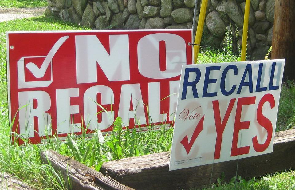 Recall Election Progressive Era Recall Can Be a Powerf...